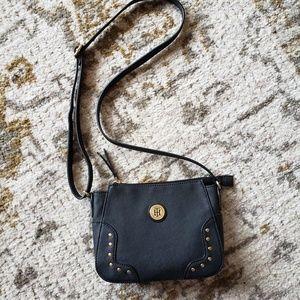 NWOT Tommy Hilfiger black studded purse.